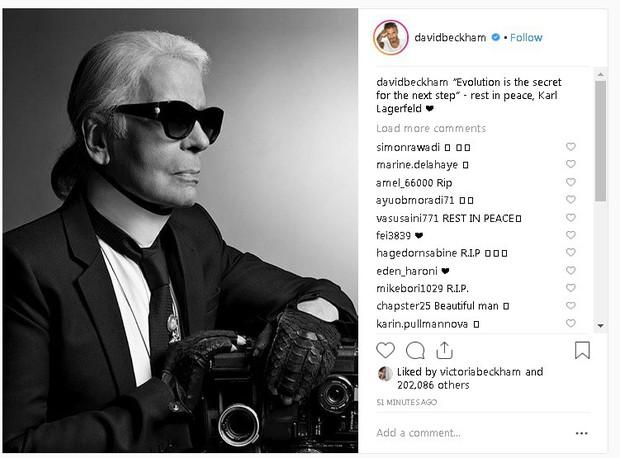 Karl Lagerfeld qua đời, Victoria Beckham, Gigi, Bella Hadid và loạt sao thế giới bày tỏ niềm thương tiếc với huyền thoại thời trang - Ảnh 2.