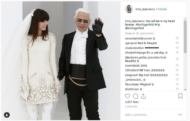 Karl Lagerfeld qua đời, Victoria Beckham, Gigi, Bella Hadid và loạt sao thế giới bày tỏ niềm thương tiếc với huyền thoại thời trang - Ảnh 19.