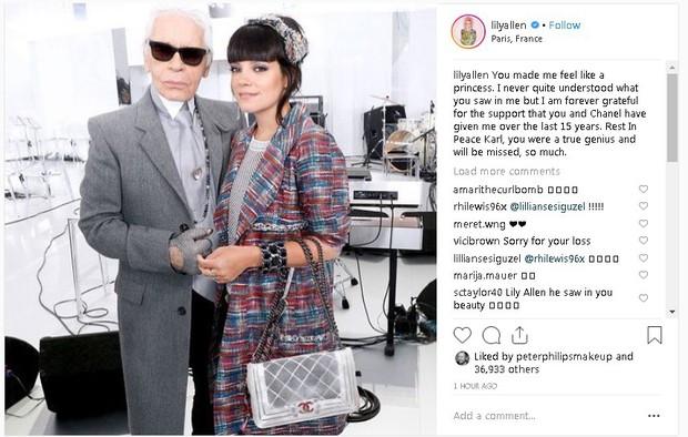 Karl Lagerfeld qua đời, Victoria Beckham, Gigi, Bella Hadid và loạt sao thế giới bày tỏ niềm thương tiếc với huyền thoại thời trang - Ảnh 18.