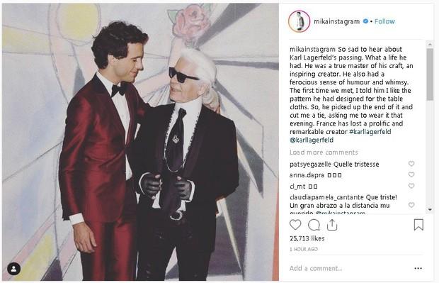 Karl Lagerfeld qua đời, Victoria Beckham, Gigi, Bella Hadid và loạt sao thế giới bày tỏ niềm thương tiếc với huyền thoại thời trang - Ảnh 13.