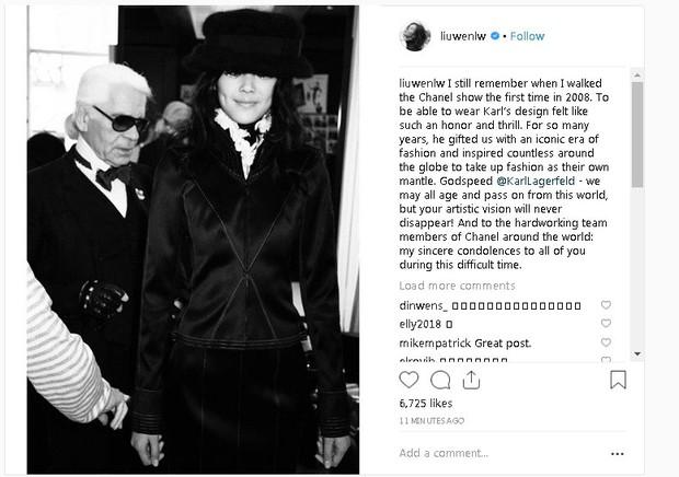 Karl Lagerfeld qua đời, Victoria Beckham, Gigi, Bella Hadid và loạt sao thế giới bày tỏ niềm thương tiếc với huyền thoại thời trang - Ảnh 20.