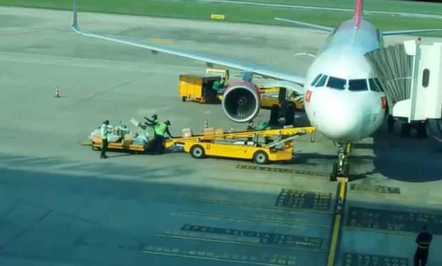 Kỷ luật các nhân viên ném hành lý ký gửi của hành khách ở Sân bay quốc tế Đà Nẵng - Ảnh 3.