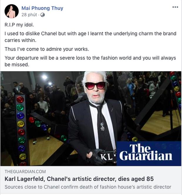 Karl Lagerfeld qua đời, Victoria Beckham, Gigi, Bella Hadid và loạt sao thế giới bày tỏ niềm thương tiếc với huyền thoại thời trang - Ảnh 28.
