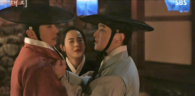 Chưa kịp yêu Go Ara, fan đã đẩy thuyền đam mỹ của Jung Il Woo và bạn thân trong Haechi - Ảnh 2.