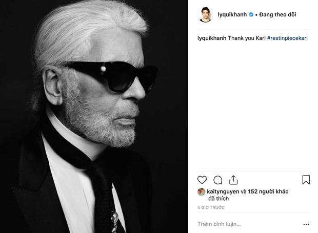 Hoa hậu Mai Phương Thuý, Á hậu Phương Nga và nhiều NTK, stylist thương tiếc trước sự ra đi của huyền thoại thời trang Karl Lagerfeld - Ảnh 5.