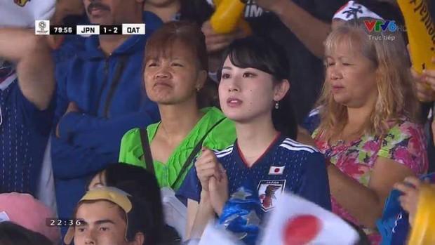 Nữ CĐV từng khiến bạn bè quốc tế ngây ngất vì vẻ đẹp ngây thơ thất thần nhìn Nhật Bản phơi áo trước Qatar - Ảnh 4.