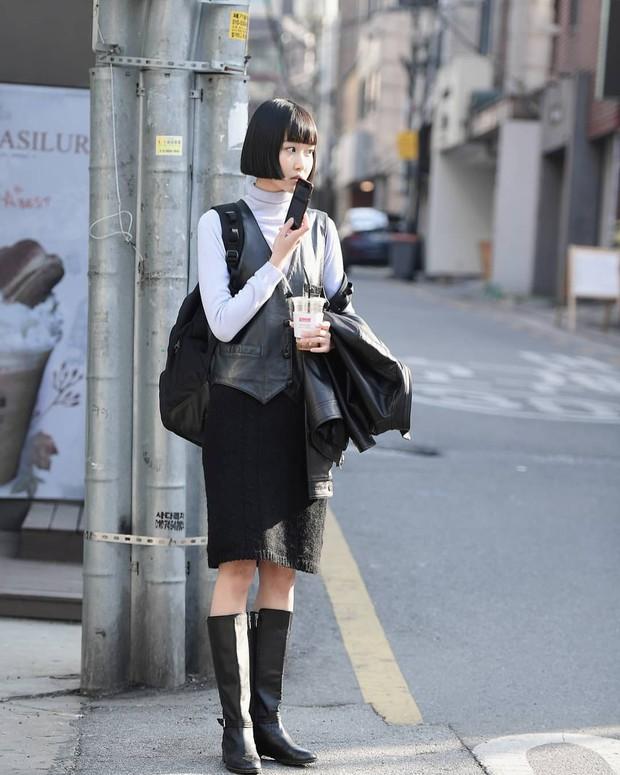 Street style giới trẻ Hàn tuần qua: nữ tính, cá tính, chất chơi chiêu nào cũng có và đều đẹp ngất ngây - Ảnh 7.