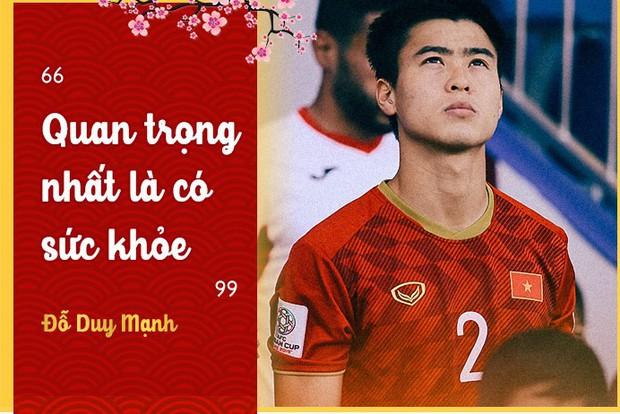 Tuyển thủ Việt Nam: Quan trọng nhất của năm mới là phải có sức khỏe - Ảnh 1.