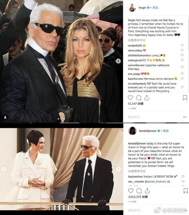 Karl Lagerfeld qua đời, Victoria Beckham, Gigi, Bella Hadid và loạt sao thế giới bày tỏ niềm thương tiếc với huyền thoại thời trang - Ảnh 16.