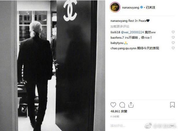 Karl Lagerfeld qua đời, Victoria Beckham, Gigi, Bella Hadid và loạt sao thế giới bày tỏ niềm thương tiếc với huyền thoại thời trang - Ảnh 26.