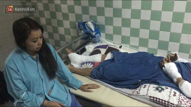 Việt kiều bị tạt axit khi đi chơi Tết với bạn gái vẫn còn mê man, mắt tổn thương nặng, thị lực chỉ còn 15 - 20% - Ảnh 3.