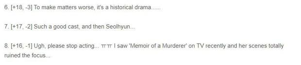 Tái xuất màn ảnh nhỏ sau 4 năm, Seolhyun vẫn tiếp tục hứng cơn mưa gạch từ netizen Hàn như mọi lần - Ảnh 4.