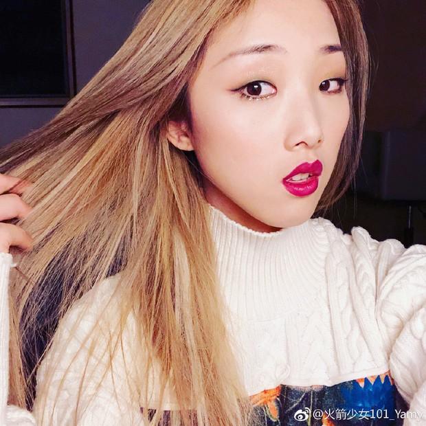 Sốc toàn tập với mặt mộc 100% của nhóm nhạc nữ hot nhất Trung Quốc: Choáng nhất là mỹ nhân ở vị trí số 2 - Ảnh 11.
