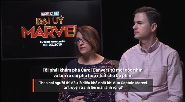 Clip phỏng vấn ekip Captain Marvel: 1001 điều bí ẩn hay ho được chính Nick Fury và Carol Danvers tiết lộ - Ảnh 15.