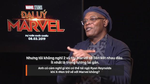 Clip phỏng vấn ekip Captain Marvel: 1001 điều bí ẩn hay ho được chính Nick Fury và Carol Danvers tiết lộ - Ảnh 5.