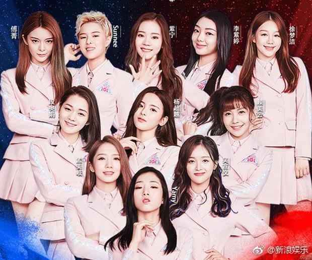 Sốc toàn tập với mặt mộc 100% của nhóm nhạc nữ hot nhất Trung Quốc: Choáng nhất là mỹ nhân ở vị trí số 2 - Ảnh 1.