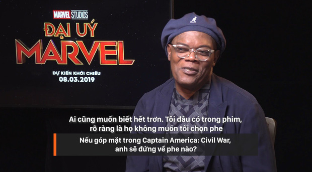 Clip phỏng vấn ekip Captain Marvel: 1001 điều bí ẩn hay ho được chính Nick Fury và Carol Danvers tiết lộ - Ảnh 7.