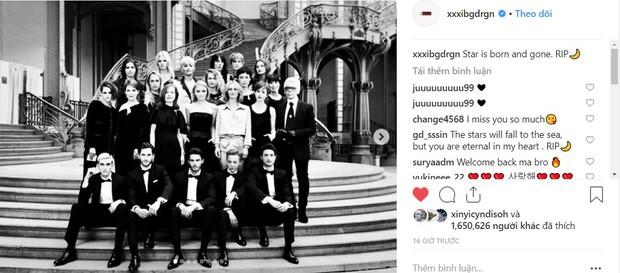 Cùng tưởng nhớ ngài Karl Lagerfeld: G-Dragon được khen, Jennie lại bị netizen chê tới tấp - Ảnh 1.