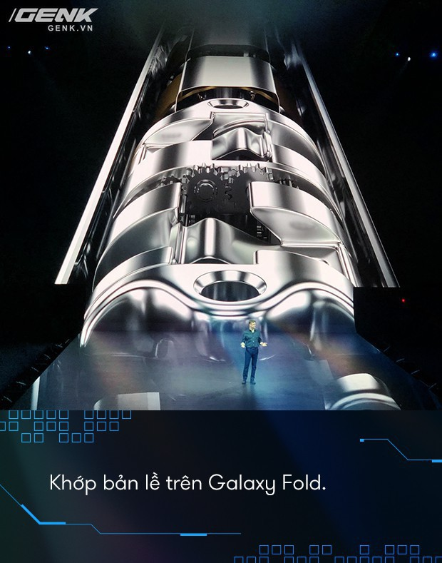 Không chỉ đột phá về thiết kế, Galaxy Fold còn là một quái vật về cấu hình - Ảnh 5.