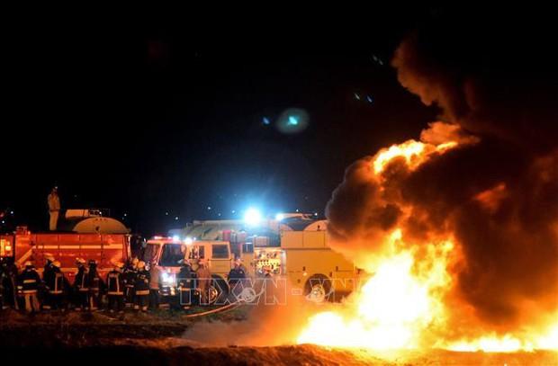 Lại nổ đường ống dẫn nhiên liệu ở Mexico - Ảnh 1.