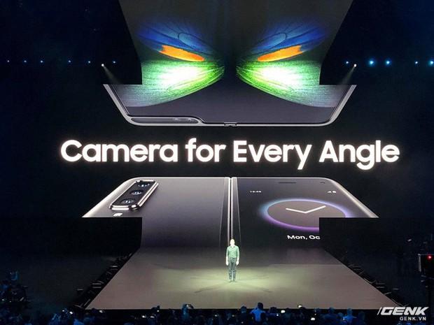 Samsung giới thiệu smartphone mở ra gập vào như cuốn sổ, 6 camera, 2 cục pin, giá 2 nghìn đô - Ảnh 5.