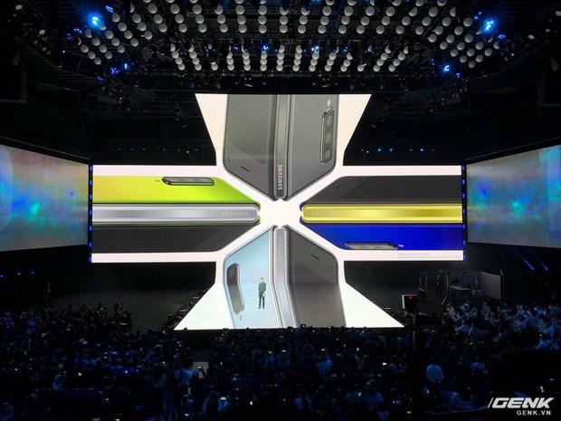 Samsung giới thiệu smartphone mở ra gập vào như cuốn sổ, 6 camera, 2 cục pin, giá 2 nghìn đô - Ảnh 6.