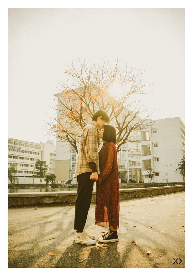 Không ngờ có một Bách Khoa tình đến thế trong bộ ảnh của cặp đôi gái Xây dựng trai Kiến trúc - Ảnh 1.