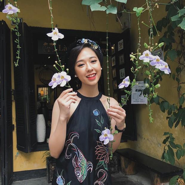 Những nữ sinh vừa xinh vừa giỏi từng gây sốt khi được tặng hoa cho Tổng thống, Thủ tướng các quốc gia đến thăm Việt Nam - Ảnh 3.
