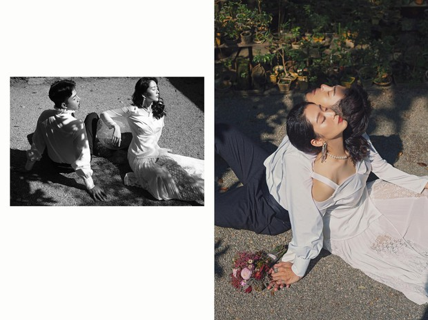 Bạn không nhìn nhầm đâu, đây là ảnh cưới của một cặp đôi Việt: Chàng thần thái như tài tử, nàng đẹp không kém Yoon Eun Hye - Ảnh 11.