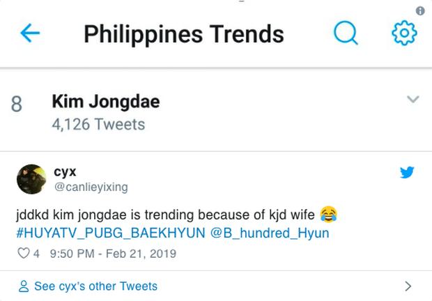 Vợ của mỹ nam EXO khiến mạng xã hội xôn xao, lên top tìm kiếm hot nhất Twitter tại Hàn - Ảnh 8.