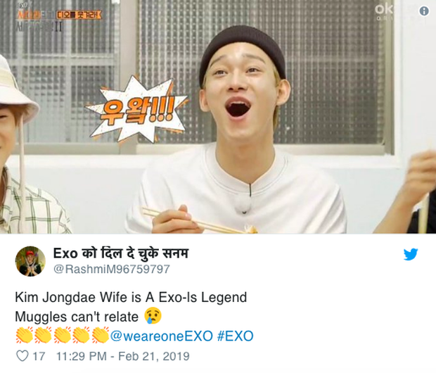 Vợ của mỹ nam EXO khiến mạng xã hội xôn xao, lên top tìm kiếm hot nhất Twitter tại Hàn - Ảnh 6.