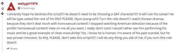Netizen Hàn được phen dậy sóng khi Kim Hyun Joong cân nhắc vai diễn trai cong trá hình - Ảnh 8.