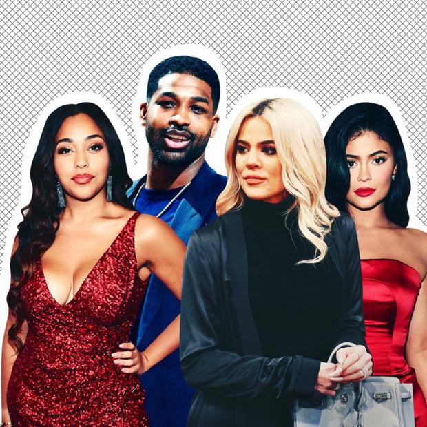 Bí ẩn: Làm sao cô chị vừa bị cắm sừng của Kylie Jenner có thể thay tã cho con với bộ nail dài cả cây số? - Ảnh 1.