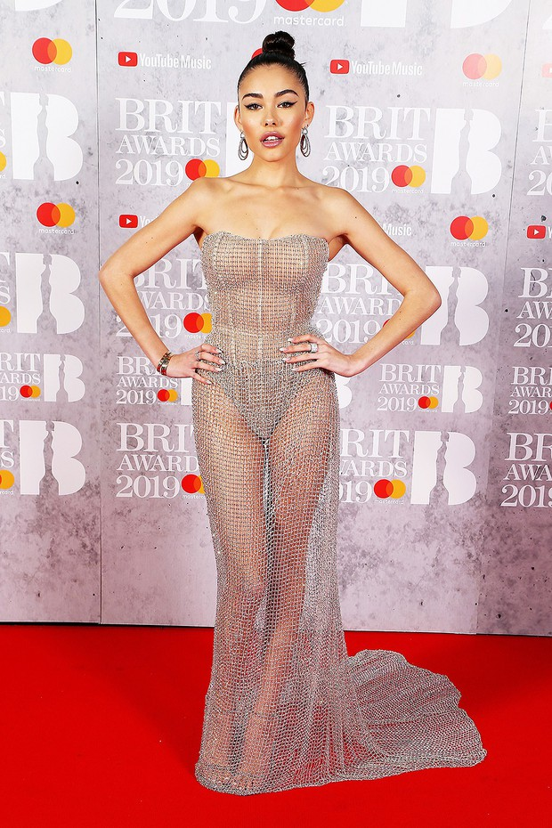 Thảm đỏ BRIT Awards 2019: Pink, Shawn Mendes dẫn đầu dàn sao, nhưng spotlight thuộc về loạt màn đọ sắc gây sốc - Ảnh 4.