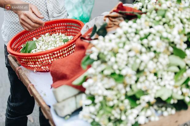 Hoa bưởi tháng 2 theo gió xuống phố Hà Nội, giá lên đến 300.000 đồng/kg vẫn cháy hàng - Ảnh 11.