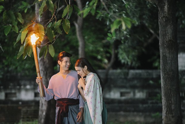 4 cặp oan gia nức tiếng màn ảnh Thái: Chí chóe mãi rồi cũng dính thính nhau - Ảnh 4.