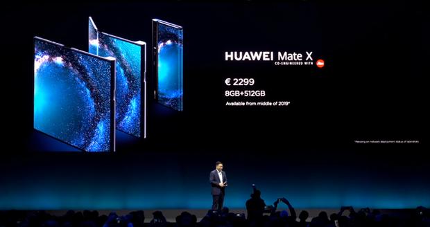 Huawei ra mắt smartphone màn hình gập 5G Mate X: Mỏng hơn cả iPad Pro, sạc nhanh gấp 6 lần iPhone XS Max, giá 2.300 EUR - Ảnh 6.