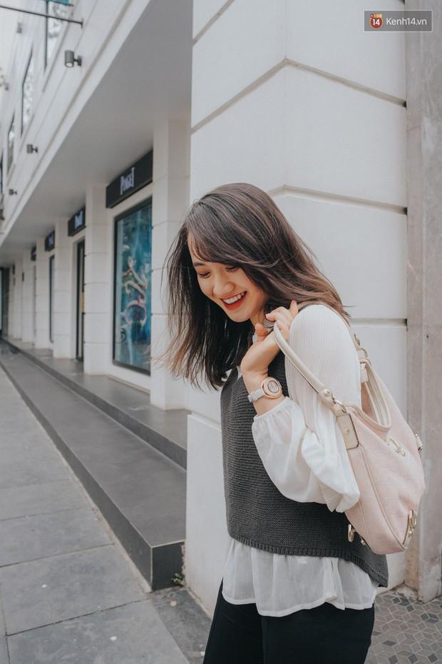 Street style 2 miền: miền Nam trẻ trung phá cách, miền Bắc dịu dàng nữ tính đậm chất Hàn Quốc - Ảnh 13.
