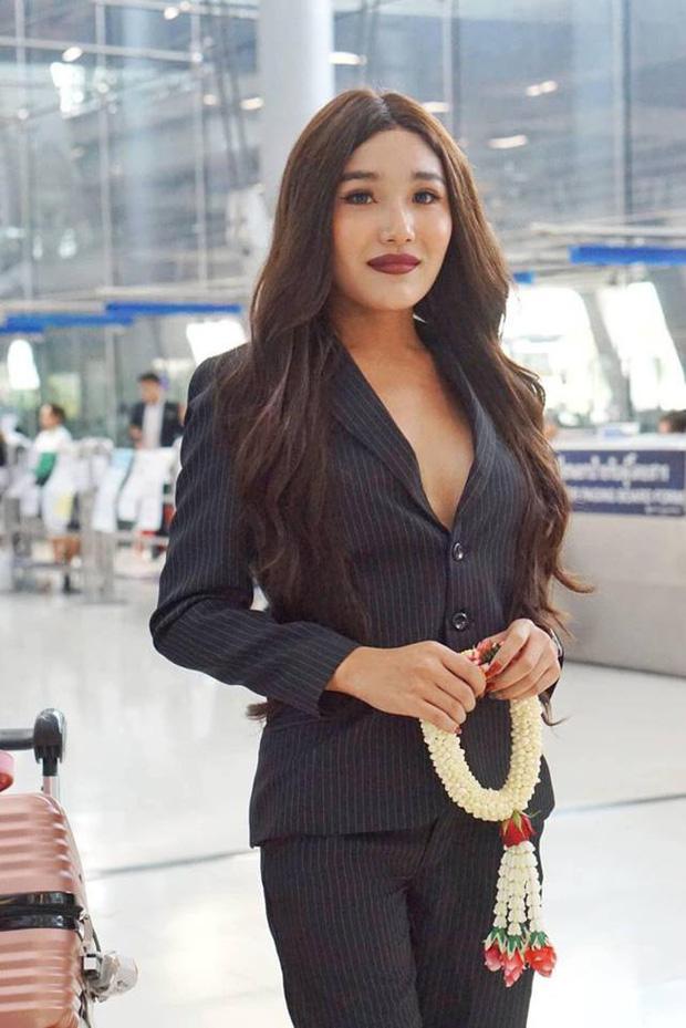 Cùng đổ bộ sân bay Thái, bất ngờ với nhan sắc đời thực của dàn thí sinh Hoa hậu Chuyển giới Quốc tế 2019 - Ảnh 7.