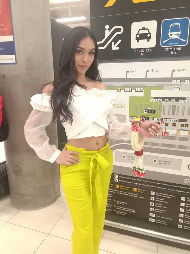 Cùng đổ bộ sân bay Thái, bất ngờ với nhan sắc đời thực của dàn thí sinh Hoa hậu Chuyển giới Quốc tế 2019 - Ảnh 9.