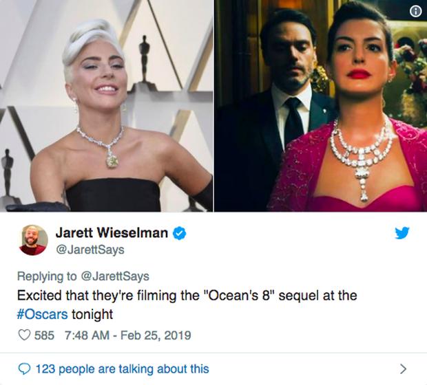 Phát sốt vì vòng kim cương siêu to của Lady Gaga trên thảm đỏ Oscar: Tới cả nghìn tỉ, Audrey Hepburn cũng từng đeo - Ảnh 9.