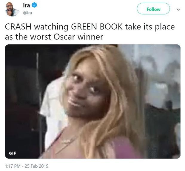 Mạng xã hội lại dậy sóng phẫn nộ vì Green Book thắng ở phút 89 Oscar 2019 - Ảnh 5.