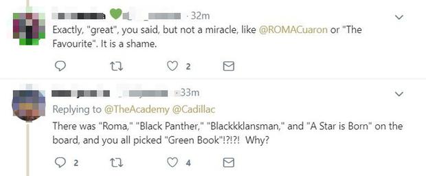 Mạng xã hội lại dậy sóng phẫn nộ vì Green Book thắng ở phút 89 Oscar 2019 - Ảnh 8.