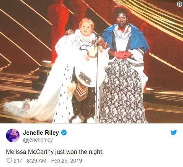 9 khoảnh khắc khó quên nhất tại lễ trao giải danh giá Oscar 2019 - Ảnh 21.