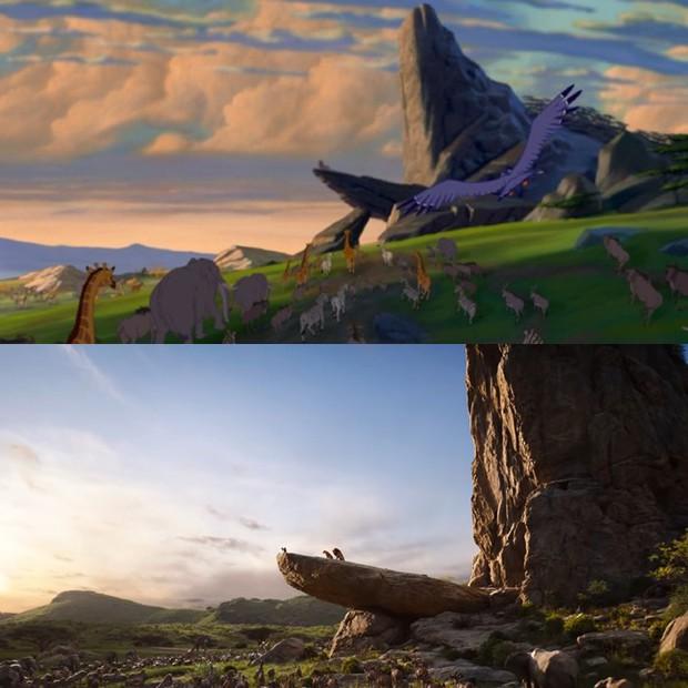 Trailer The Lion King tái hiện cảnh phim kinh điển của phiên bản hoạt hình 1994 - Ảnh 2.