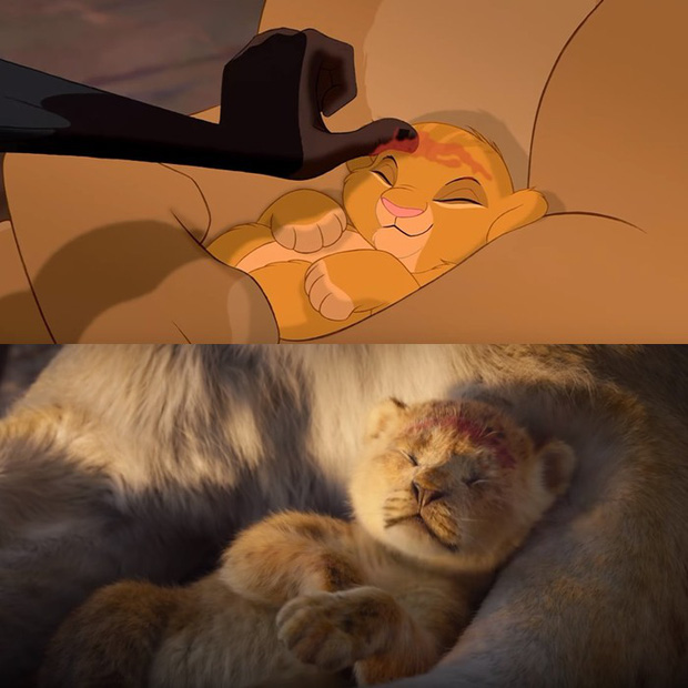 Trailer The Lion King tái hiện cảnh phim kinh điển của phiên bản hoạt hình 1994 - Ảnh 3.