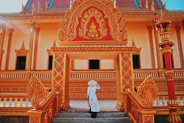 3 ngôi chùa cổ siêu đẹp không phải bạn trẻ nào cũng biết ở Bạc Liêu - Ảnh 3.