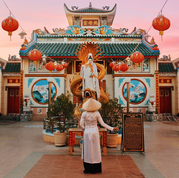 3 ngôi chùa cổ siêu đẹp không phải bạn trẻ nào cũng biết ở Bạc Liêu - Ảnh 9.