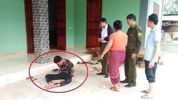 Khởi tố người đàn ông giết vợ rồi tự tử bất thành ở Nghệ An - Ảnh 1.