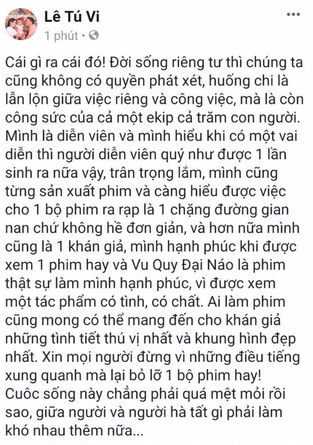 Lý Phương Châu cùng dàn sao Việt lên tiếng ủng hộ Vu Quy Đại Náo trước ồn ào tẩy chay - Ảnh 6.